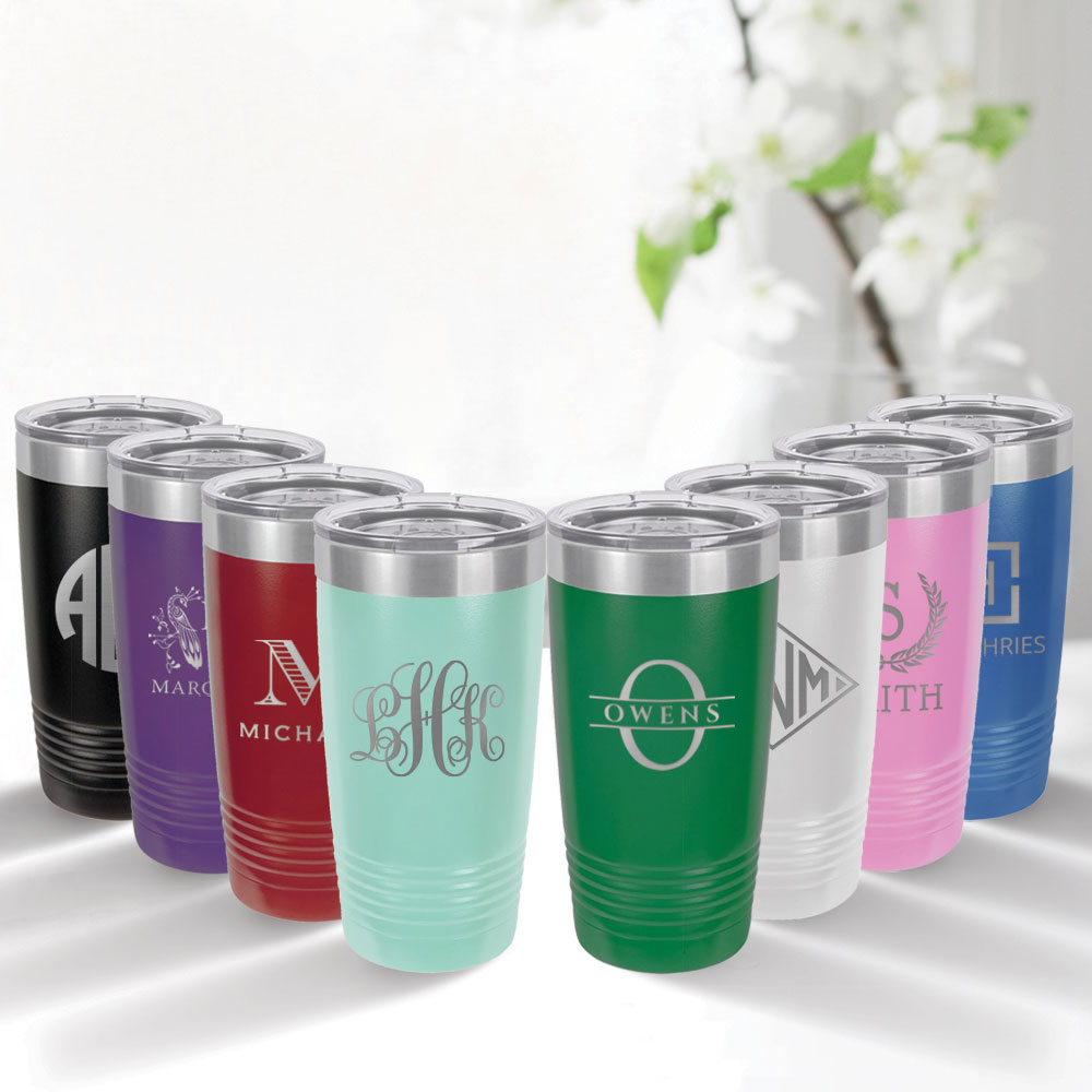 20 oz Tumbler by Three Designing Women - all colors