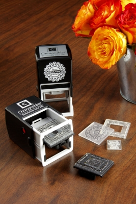 Custom Self-Inking Stamper by Three Designing Women