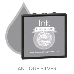 Antique Silver  ink for Three Designing Women Stampers