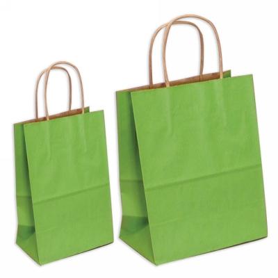 Green Gift Bag Large