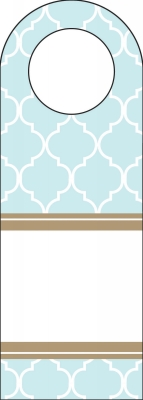 Madison Light Blue Bottle Tags by Three Designing Women