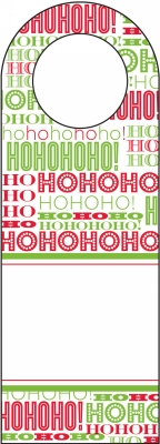 Santa Bottle Tags by Three Designing Women