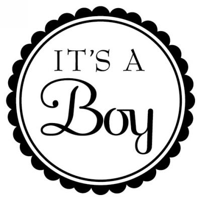 Baby Boy Stamp Design Clip for Three Designing Women Stampers