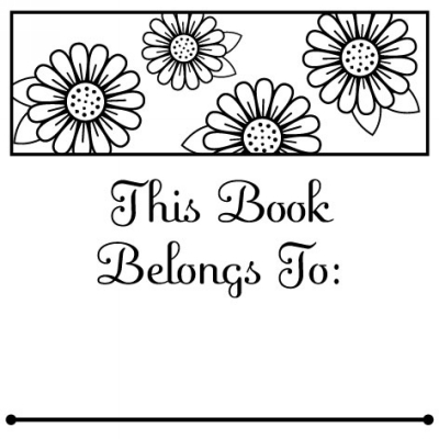 Daisy Belongs Stamp Design Clip for Three Designing Women Stampers