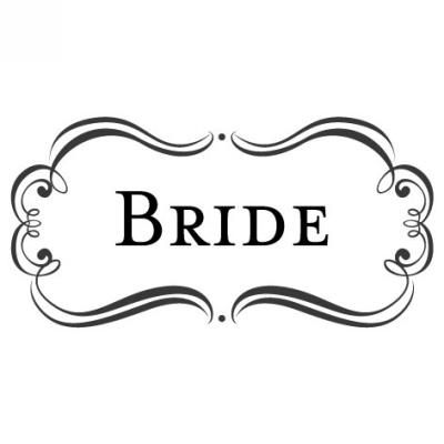 Amore Bride Stamp Design Clip for Three Designing Women Stampers