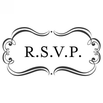 Amore RSVP Stamp Design Clip for Three Designing Women Stampers