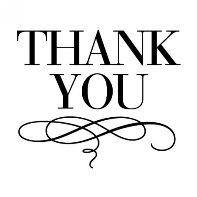 Luxe Thank You Stamp Design Clip for Three Designing Women Stampers