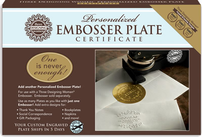 Personalized Embosser Design