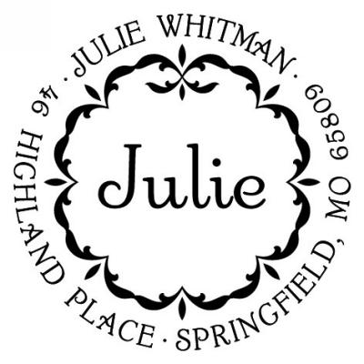 Three Designing Women Personalized Self-Inking Stamper CS3231_L