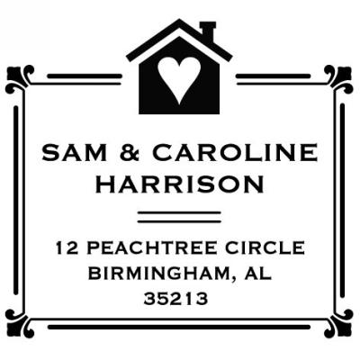 House of Love Stamper by Three Designing Women CS3250