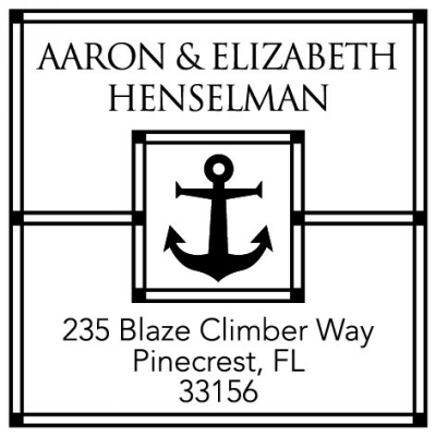 Anchors Away Stamper by Three Designing Women CS3262