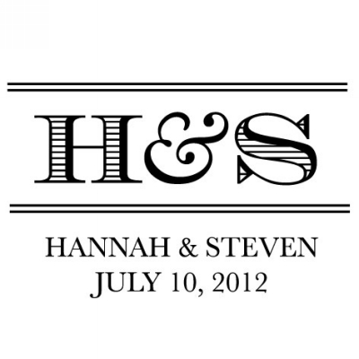 Personalized Stamper by Three Designing Women CS3629