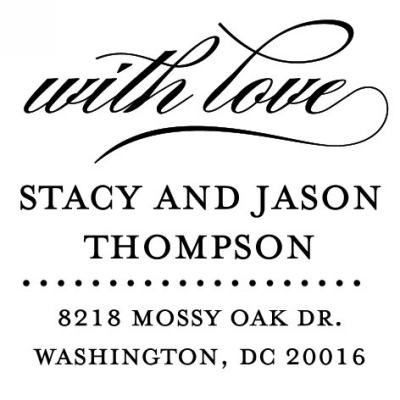 Personalized Stamper by Three Designing Women CS3654