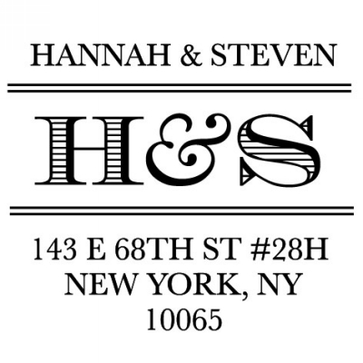 Personalized Stamper by Three Designing Women CS3657
