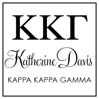 Kappa Kappa Gamma Three Designing Women college sorority stamp