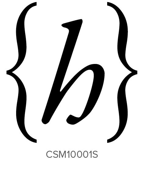 Custom Self-Inking Monogram Stamper by Three Designing Women CSM10001S