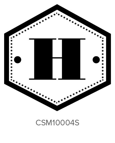 Custom Self-Inking Monogram Stamper by Three Designing Women CSM10004S
