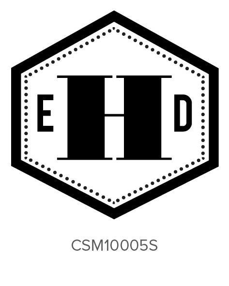 Custom Self-Inking Monogram Stamper by Three Designing Women CSM10005S