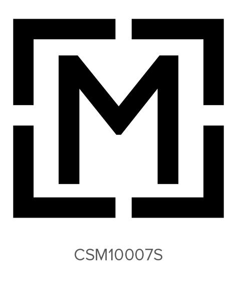 Custom Self-Inking Monogram Stamper by Three Designing Women CSM10007S