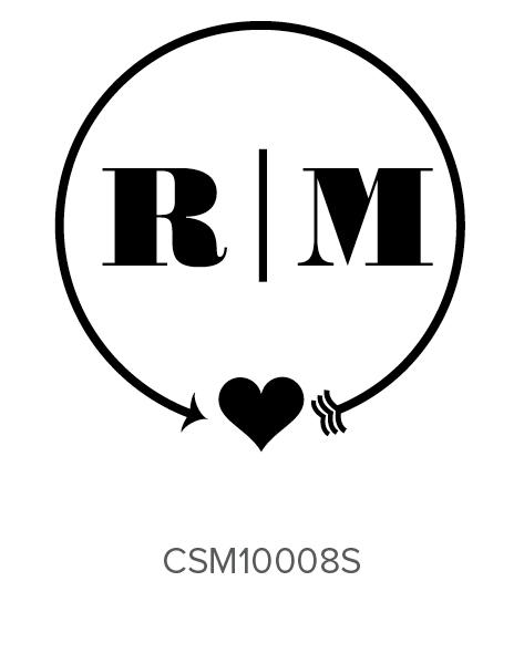 Custom Self-Inking Monogram Stamper by Three Designing Women CSM10008S