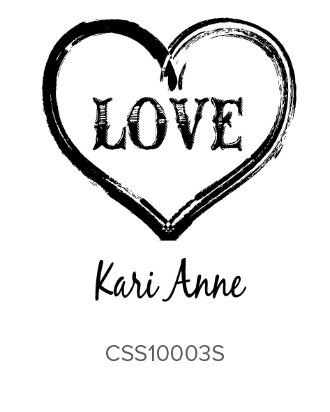 Custom Self-Inking Address Stamper by Three Designing Women CSS10003S