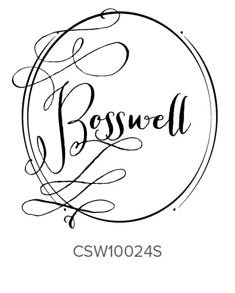 Three Designing Women Personalized Self-Inking Wedding Stamper CSW10024S