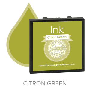 Citron Green ink for Three Designing Women Stampers