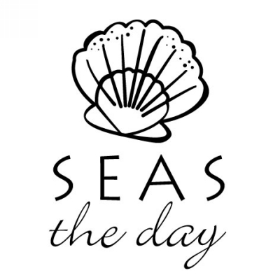 Seas the Day Stamp Design Clip for Three Designing Women Stampers
