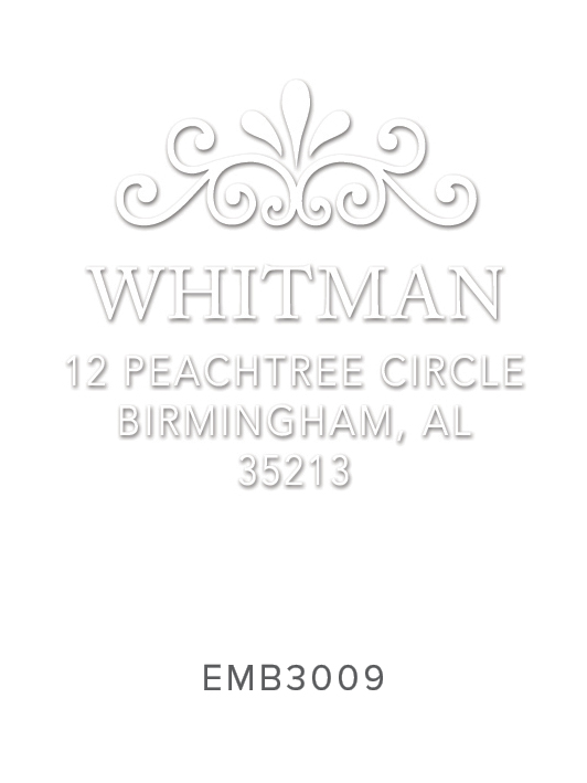 Embosser by Three Designing Women Design No. EMB3009