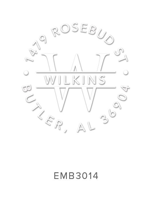 Embosser by Three Designing Women Design No. EMB3014