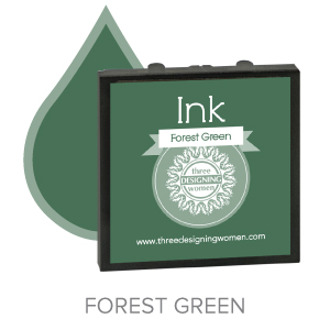 Forest Green ink for Three Designing Women Stampers