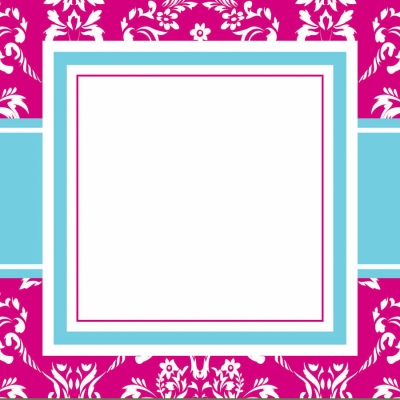 Toile Pink Gift Tags by Three Designing Women