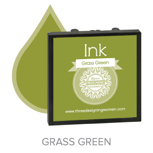Grass Green ink for Three Designing Women Stampers