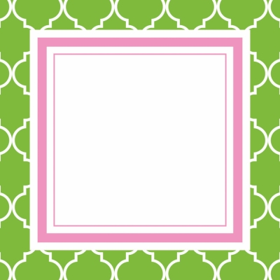 Madison Green Gift Tags by Three Designing Women