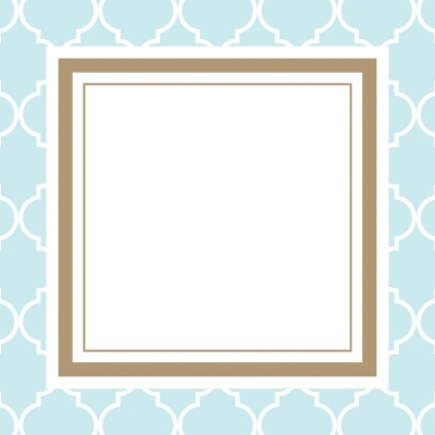 Madison Light Blue Gift Tags by Three Designing Women