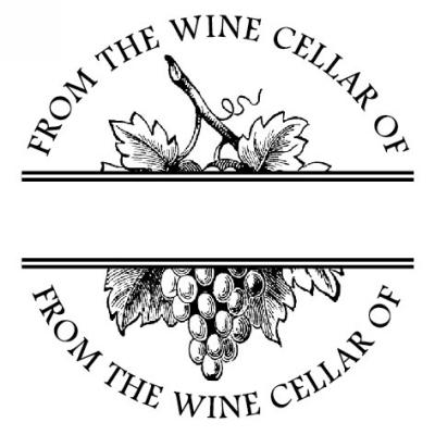 Cellar Stamp Design Clip for Three Designing Women Stampers