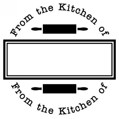 Kitchen Stamp Design Clip for Three Designing Women Stampers