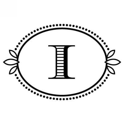 Monogram Cash I Stamp Design Clip for Three Designing Women Stampers
