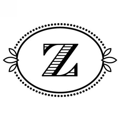 Monogram Cash Z Stamp Design Clip for Three Designing Women Stampers