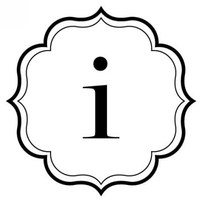 Monogram Scallop I Stamp Design Clip for Three Designing Women Stampers