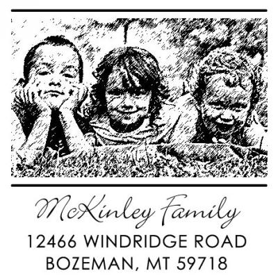 Photo Stamp by Three Desiging Women POPH7002