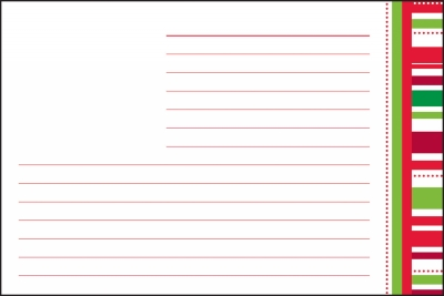 Candy Cane Recipe Cards by Three Designing Women