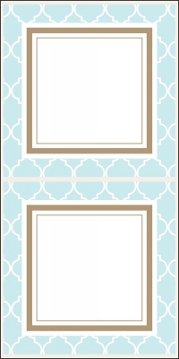 Madison Light Blue Stickers by Three Designing Women