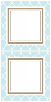Madison Light Blue Stickers by Three Designing Women