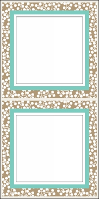 Wisteria Taupe Stickers by Three Designing Women