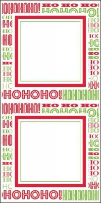 Santa Stickers by Three Designing Women