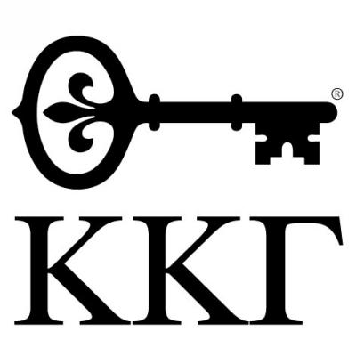 Sorority KKG Greek Stamp Design Clip for Three Designing Women Stampers