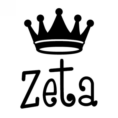 Sorority ZTA Symbol Stamp Design Clip for Three Designing Women Stampers
