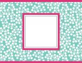 Wisteria Blue Foldover Notes by Three Designing Women
