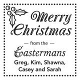 Merry Christmas Holiday Stamper by Three Designing Women